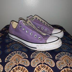 Lavender Converse